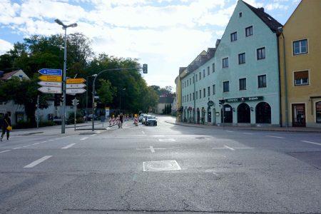 I have a dream: Vöttiner Straße – Karlswirtkreuzung