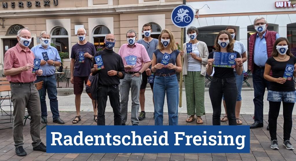 Team des Radentscheids Freising