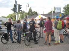 Diskussion über die Ummarkierung der Kreuzung Bahnstraße / Valencienner