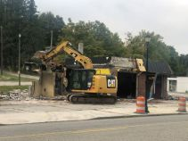 The building was recently demolished with the use of Community Development Block Grant funds.