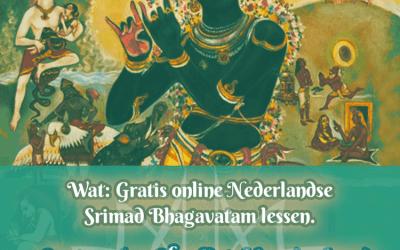 GRATIS online Srimad-Bhagavatam lessen