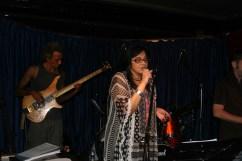 Radha Thomas on stage