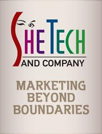 SheTech and Company. marketing beyond boundaries.