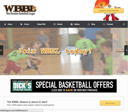 West Bearden Basketball League (WBBL)
