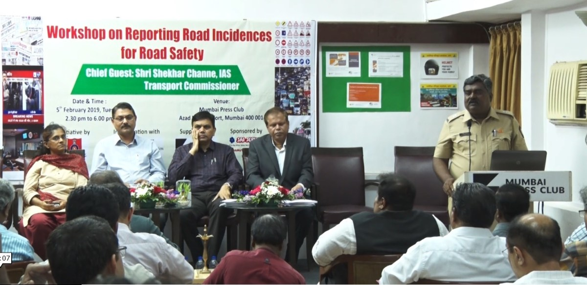 Road Safety Reporters workshop