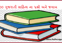 Gujarati Sahitya Question