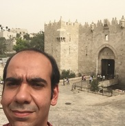 Damascus Gate or Gate of the Column, with its timeless intricate masonry