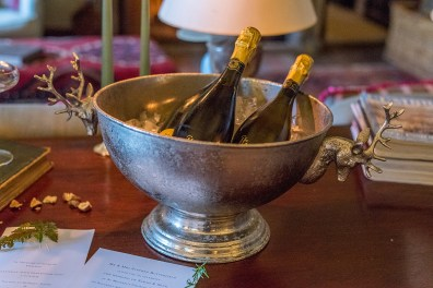 Champagne at Askham Hall