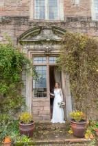 Bridal portrait at Askham Hall