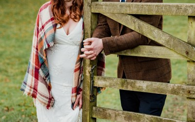 One Dress, Two Looks: Autumn Wedding Inspiration Part 2