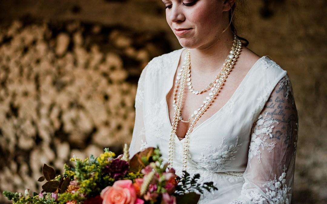 One Dress, Two Looks: Autumn Wedding Inspiration Part 1