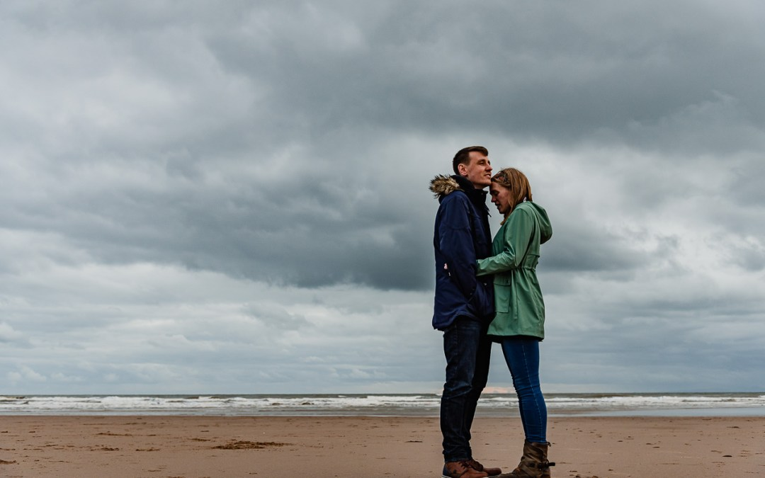 Coastal Engagement Photoshoot, St Bees