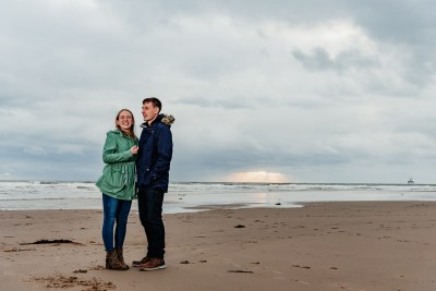 St Bees Beach Engagement-22