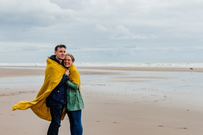 St Bees Beach Engagement-7