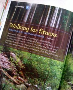 Walking for Fitness | Alive Magazine October 2012