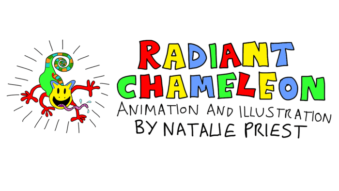 RADIANT CHAMELEON BANNER AND HEADER NO BACKGROUND