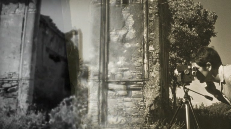 screen capture from MUSIC FOR A MISSING FILM