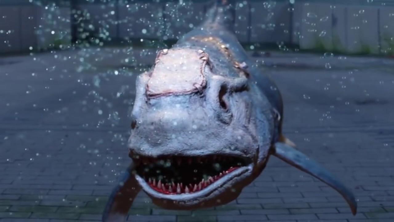 SHARKENSTEIN (2016) is reviewed in VIDEO DUNGEON.