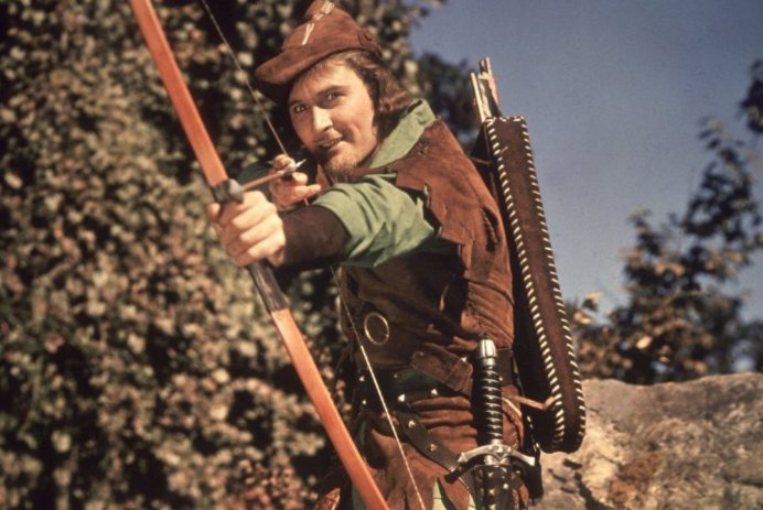 THE ADVENTURES OF ROBIN HOOD screens at The Cinema Museum (17 FEB).