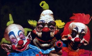 RADIANT CIRCUS SCREEN GUIDE - NOW SHOWING: KILLER KLOWNS FROM OUTER SPACE screens at BFI (17 MAR).