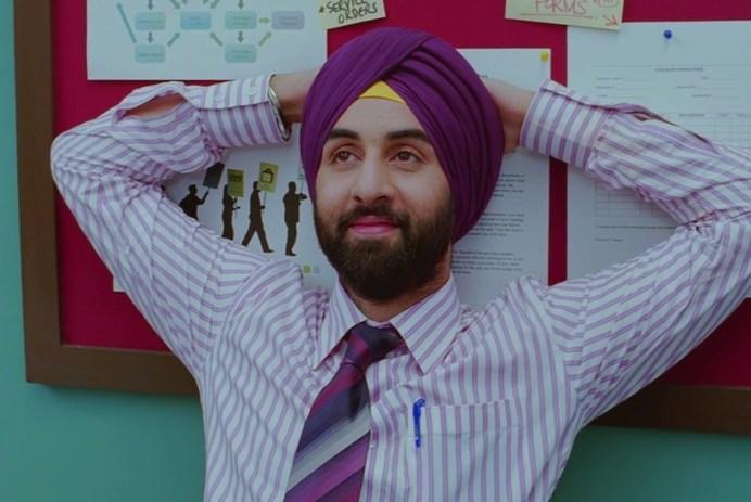 Turbans Seen On Screen: Ranbir Kapoor in ROCKET SINGH: SALESMAN OF THE YEAR.