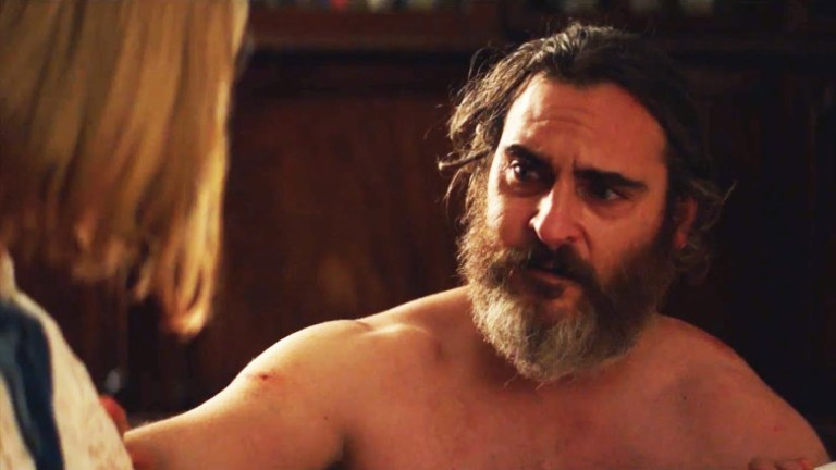 Films in London today: YOU WERE NEVER REALLY HERE at Whirled Cinema.