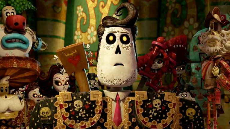 Films in London this HALLOWEEN: THE BOOK OF LIFE at St Swithuns (27 OCT).
