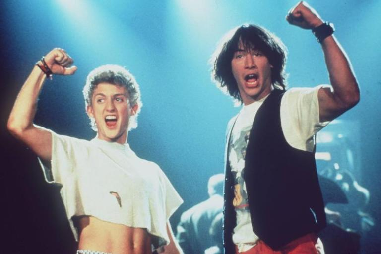 Films in London today: BILL & TED'S EXCELLENT ADVENTURE at The Prince Charles (19 NOV).