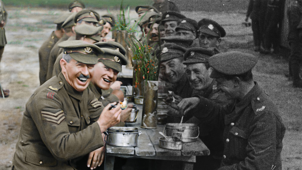 Films in London today: THEY SHALL NOT GROW OLD at The Castle Cinema (03 DEC).