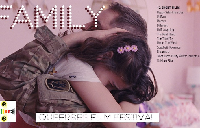 Film festivals in London today: QUEERBEE - FAMILY at Deptford Cinema (06 JAN).