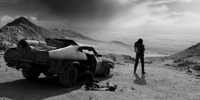 Films in London today: MAD MAX FURY ROAD BLACK AND CHROME EDITION at Prince Charles (28 JAN).