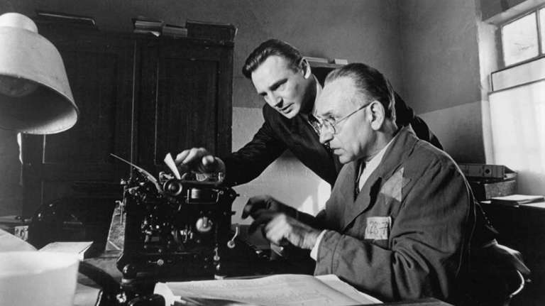 Films in London this week: SCHINDLER'S LIST, various venues (27 JAN).