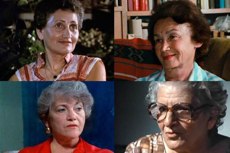 Films in London this week: SHOAH: FOUR SISTERS at Close-Up (17 FEB).