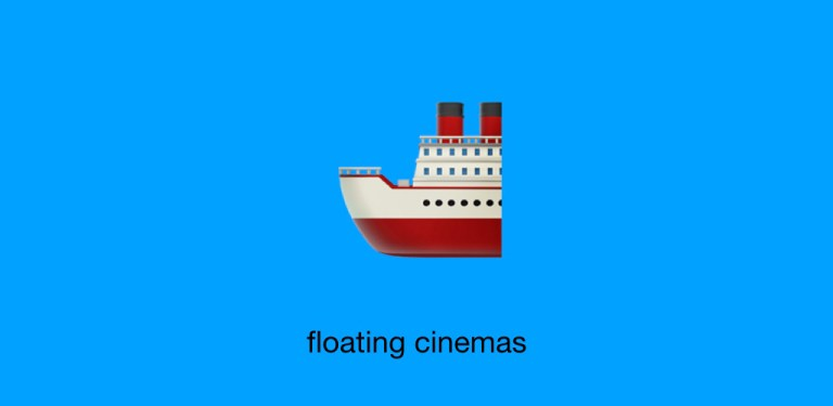 Discover more #LDNindieFILM with Radiant Circus, London's alternative guide to independent cinema: 4 - floating cinemas.