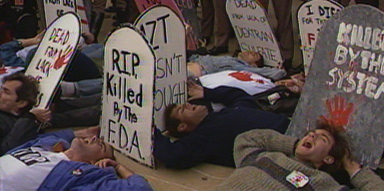 Films in London this week: UNITED IN ANGER: A HISTORY OF ACT UP at Rich Mix (01  MAY).