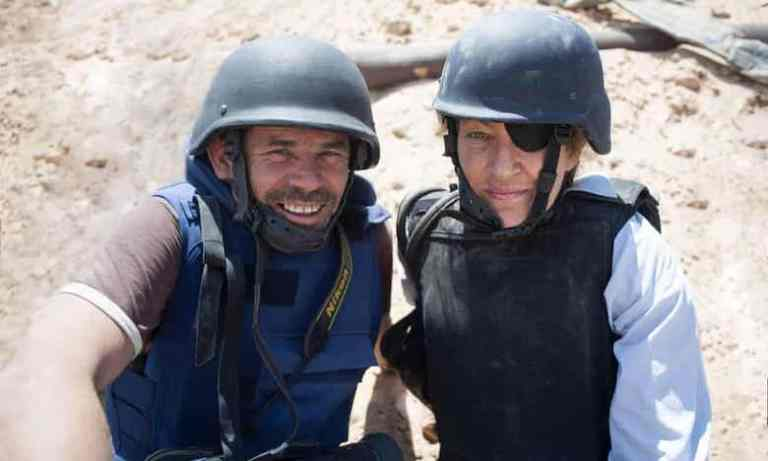 Films in London this week: UNDER THE WIRE at Regent Street Cinema (05 JUN).