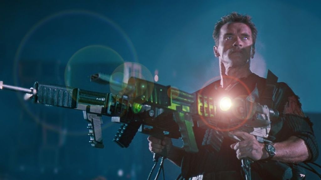 Films in London today: ERASER, part of MIDNIGHT EXCESS (23 NOV).