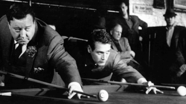 Films in London this month: THE HUSTLER, part of NEWMAN'S OWN: THE EARLY FILMS OF PAUL NEWMAN at Regent Street Cinema (01 SEP to 27 OCT):