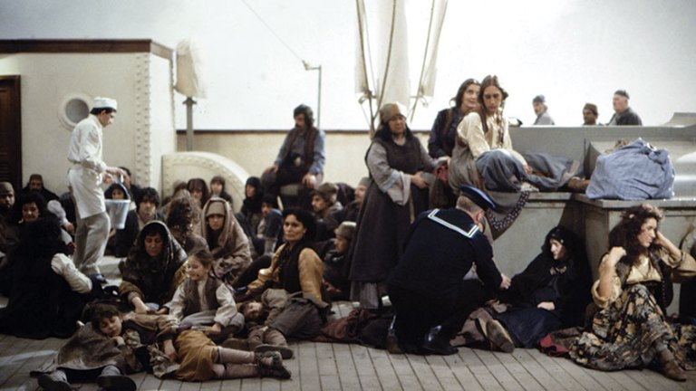 Films in London today: AND THE SHIP SAILS ON, part of FELLINI at BFI (18 FEB).
