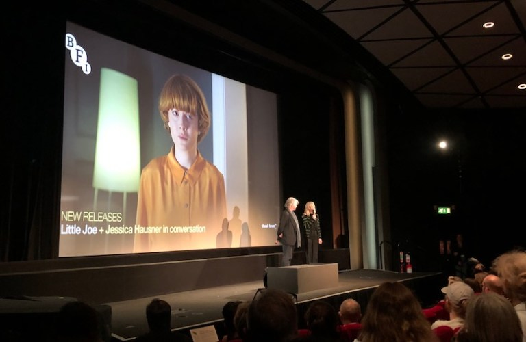 SCREEN DIARY: Jessica Hausner In Conversation at BFI (21 FEB 2020).