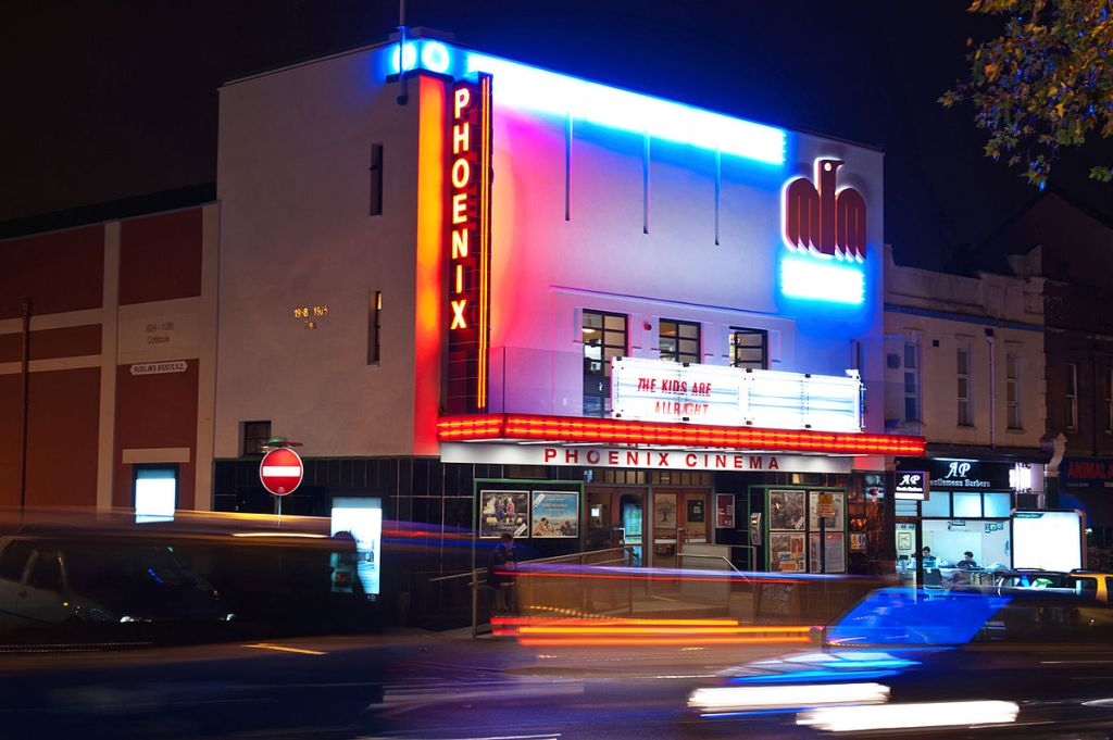 This is a picture of Phoenix Cinema in East Finchley, London.