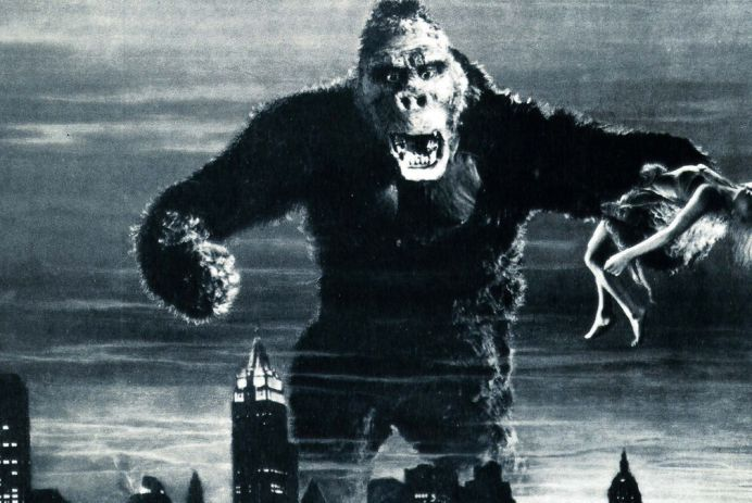 This is a film still from KING KONG (1933) projected from The Castle Cinema on 30 JUL 2020.
