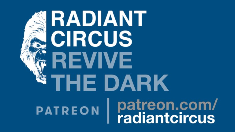 "This is a graphic containing the text ""RADIANT CIRCUS - Revive The Dark""."