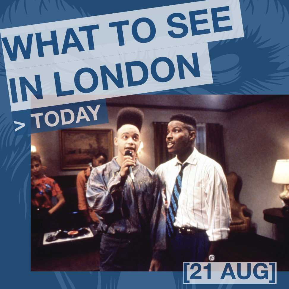 What to see in London today - HOUSE PARTY d. Reginald Hudlin, 1990 at Leyton Jubilee Park (21 AUG 20:30).