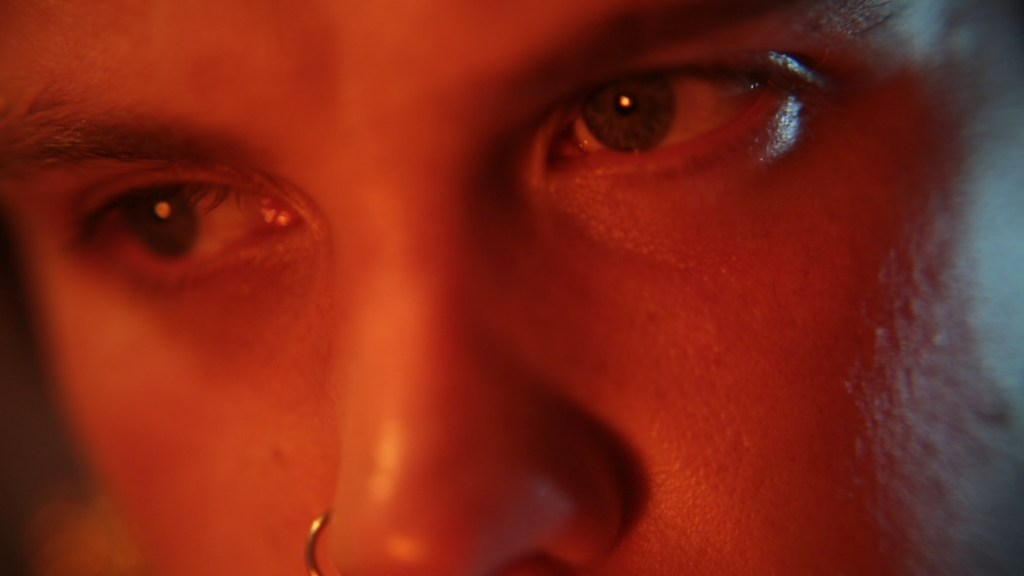 This is film still from ASHLEY by Jamie Crewe, streaming online at LUX until 13 MAY 2021.