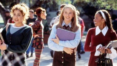 This is a film still from CLUELESS d. Amy Heckerling, 1995 at Rooftop Film Club, Peckham (31 MAY 21:00).