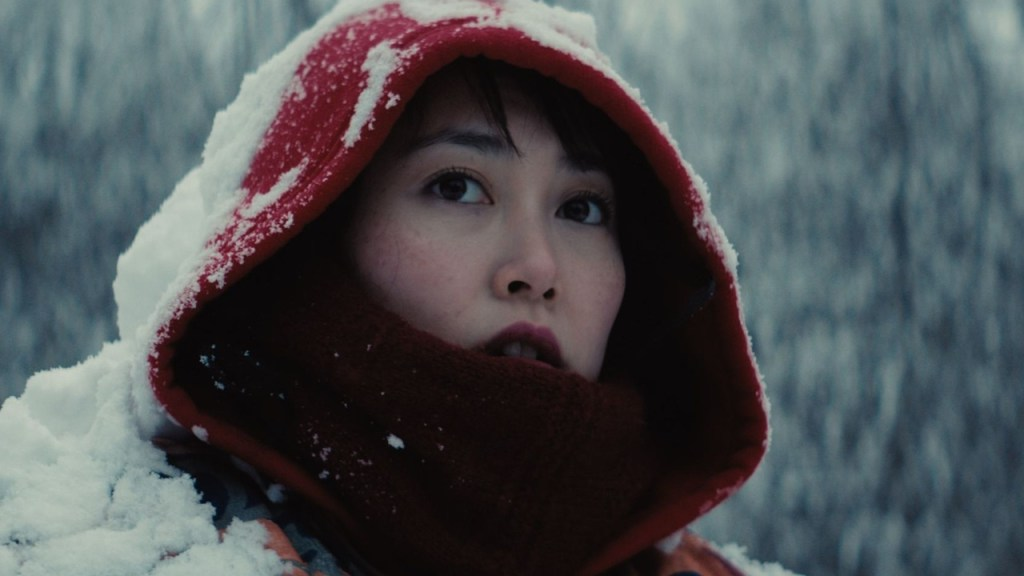 This is a film still from KUMIKO, THE TREASURE HUNTER (2014), presented by No Bollox Film Club at The Castle Cinema (22 June 2021).