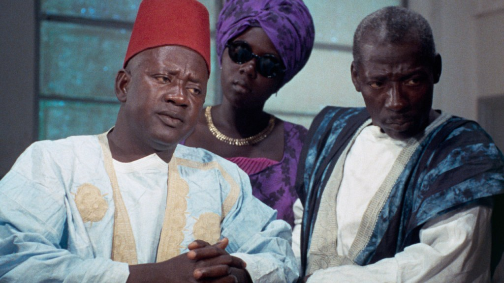 This is a film still from MANDABI d. Ousmane Sembène, 1968 presented by We Are Parable at Rio Cinema (08 JUN 2021).