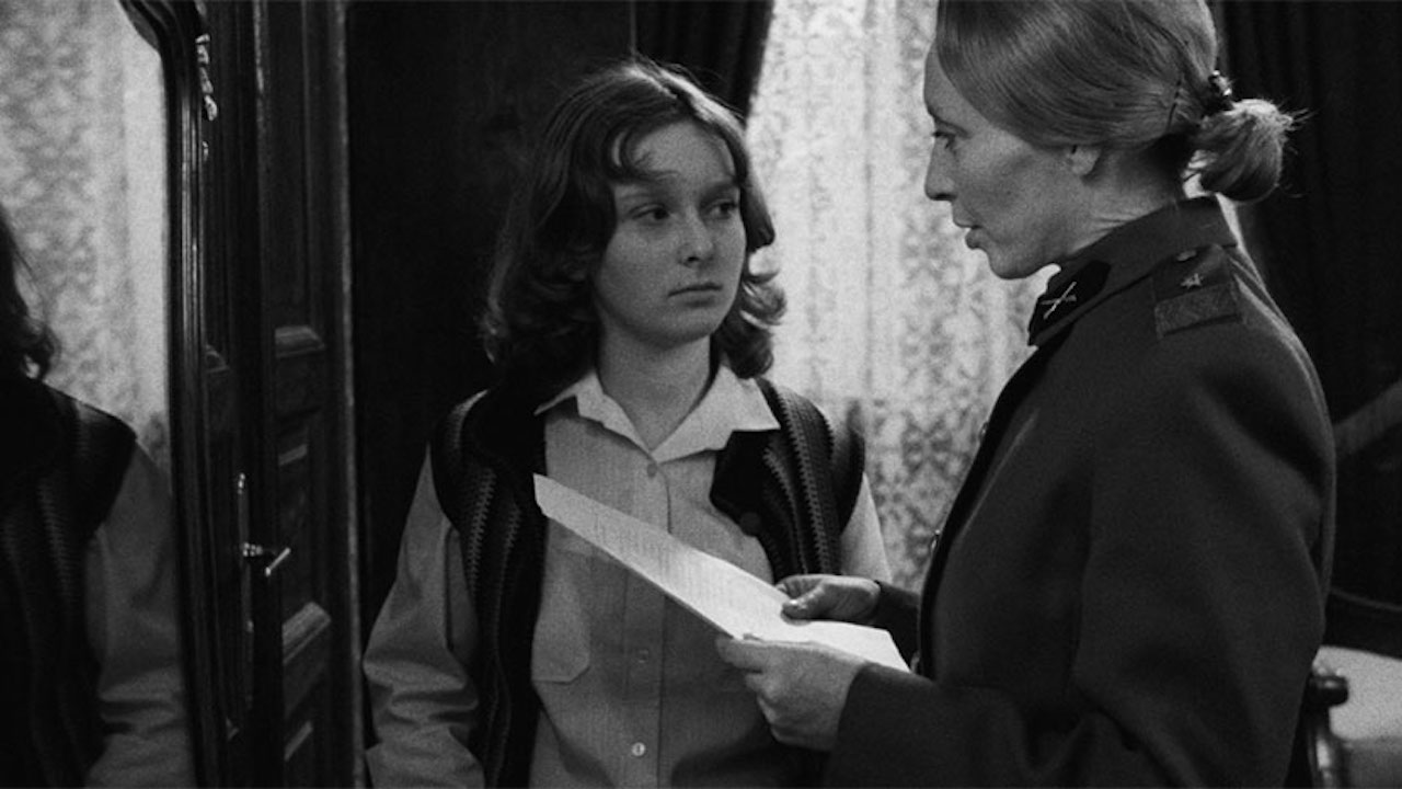 This is a film still from DIARY FOR MY CHILDREN, screening at BFI Southbank today (24 JULY 2021).