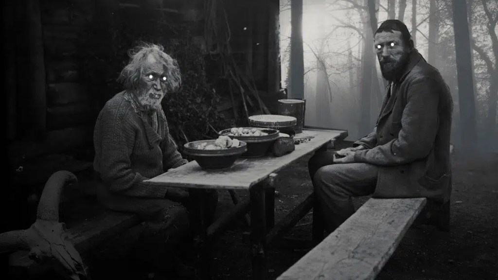 This is a film still from NOVEMBER at Catford Mews, part of their Twisted Folk season (OCT to NOV 2021).
